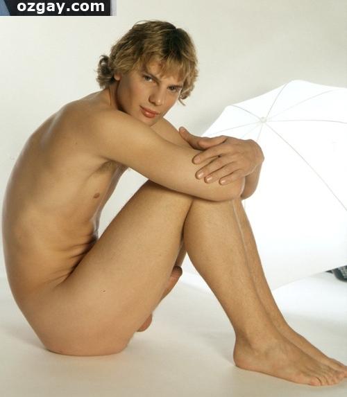 Nude Asian Man